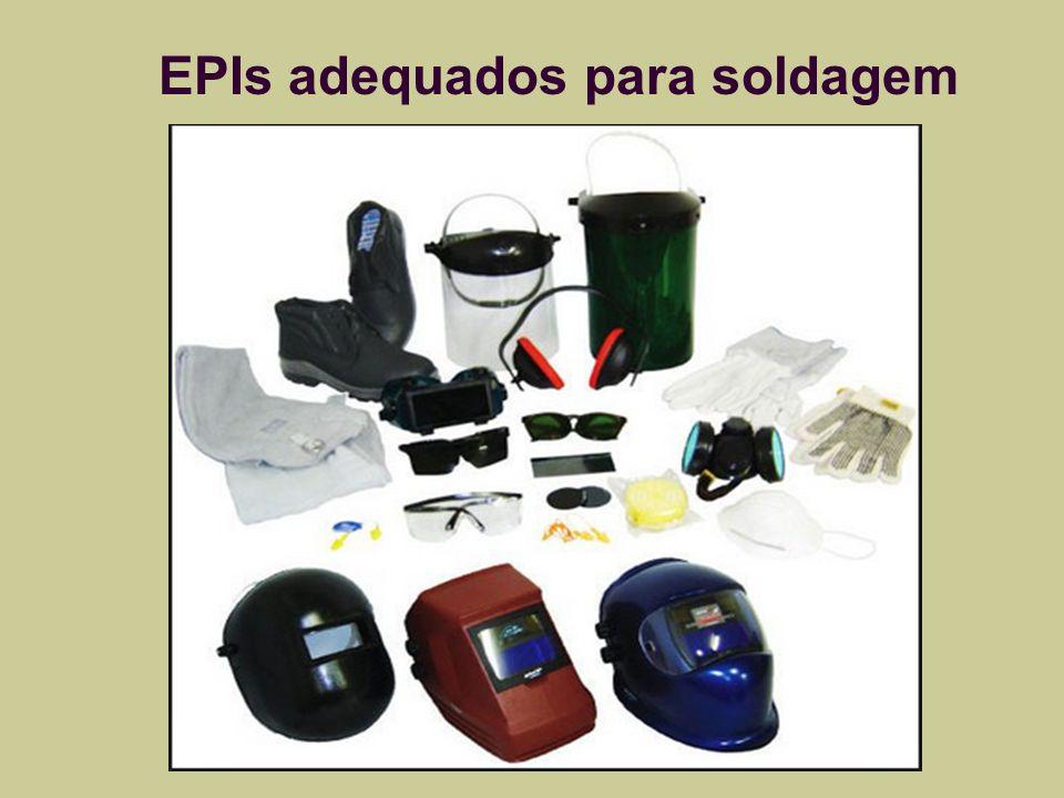 EPIs adequados para soldagem
