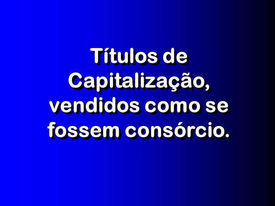 PRINCIPAIS RECLAMAÇÕES DOS CONSUMIDORES BRASILEIROS, POR ÁREA, REGISTRADAS NOS ÓRGÃOS OFICIAIS DE DEFESA DO CONSUMIDOR, INTEGRANTES DO SISTEMA NACIONA