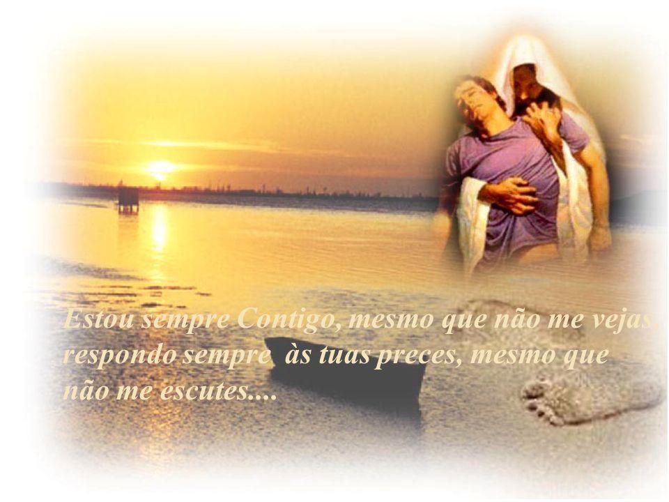 Mas conte-me também, das tuas alegrias, Fale-me dos teus sonhos, dos teus ideais...