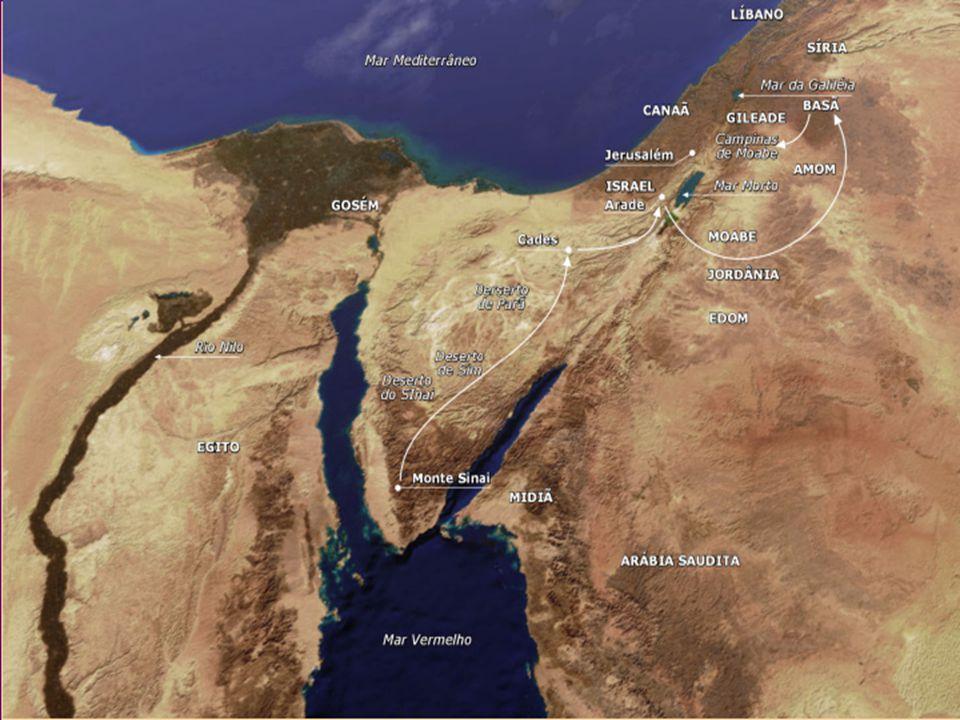 1 - 1011 – 1920 - 2526 - 36 PreparaçãoDegeneraçãoReorganização Esperança VivaEsperança MortaEsperança Ressuscitada Sinai (20 dias)Deserto (39 anos)Moabe (5 meses) Antiga GeraçãoTransiçãoNova Geração