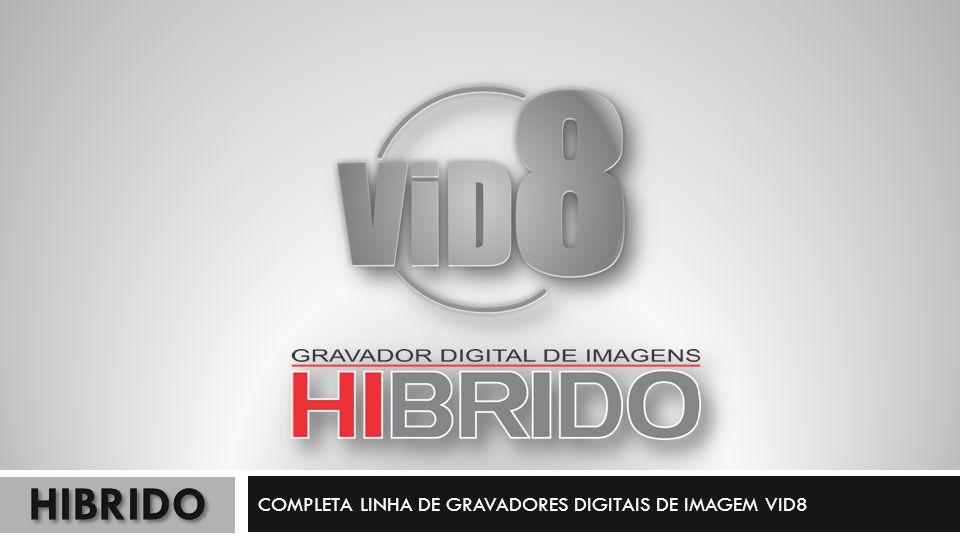 3 EM 1 – DVRxHVRxNVR; 4 canais de vídeo; 4 canais de áudio; Saída HDMI – 1920x1080; 960H – 120FPS – FULL 960H; Até 2TB de disco; GME e CMS; DDNS; Backup facilitado com Editor; Acesso via Smartphone – vMeye Super; Consulte a tabela Híbrida.