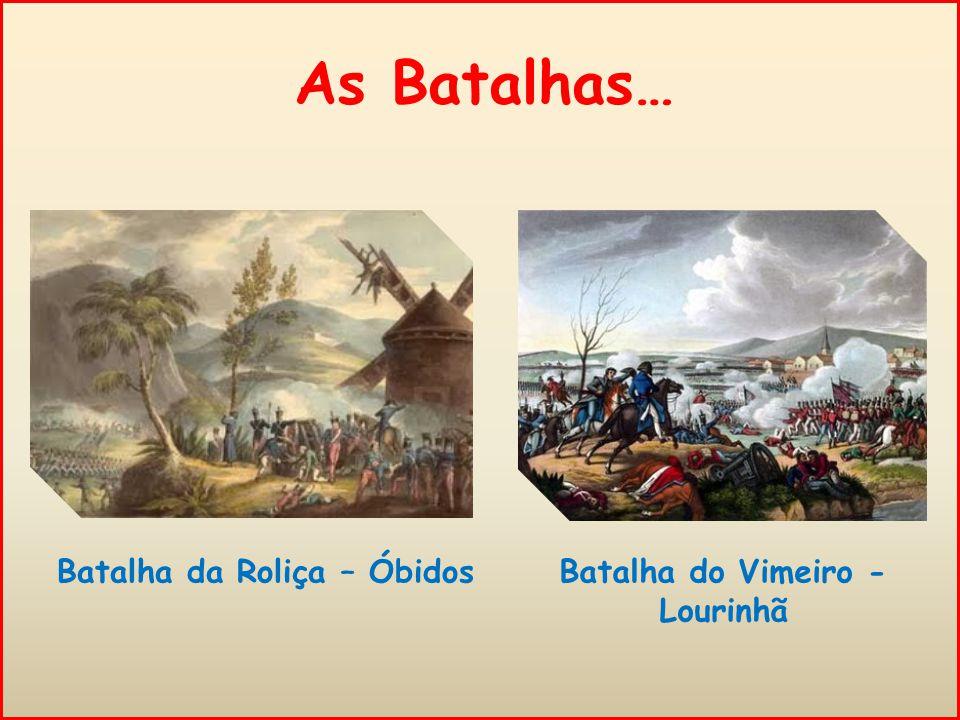 A resposta francesa… Em 1809 Napoleão mandava outro General, Soult, invadir Portugal.