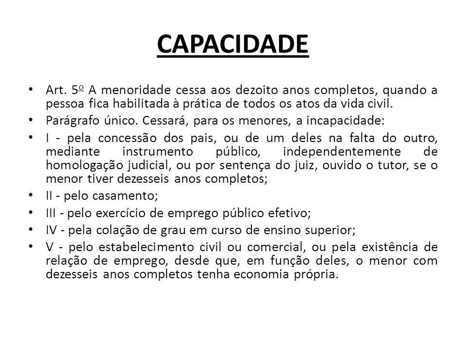 CAPACIDADE Art.