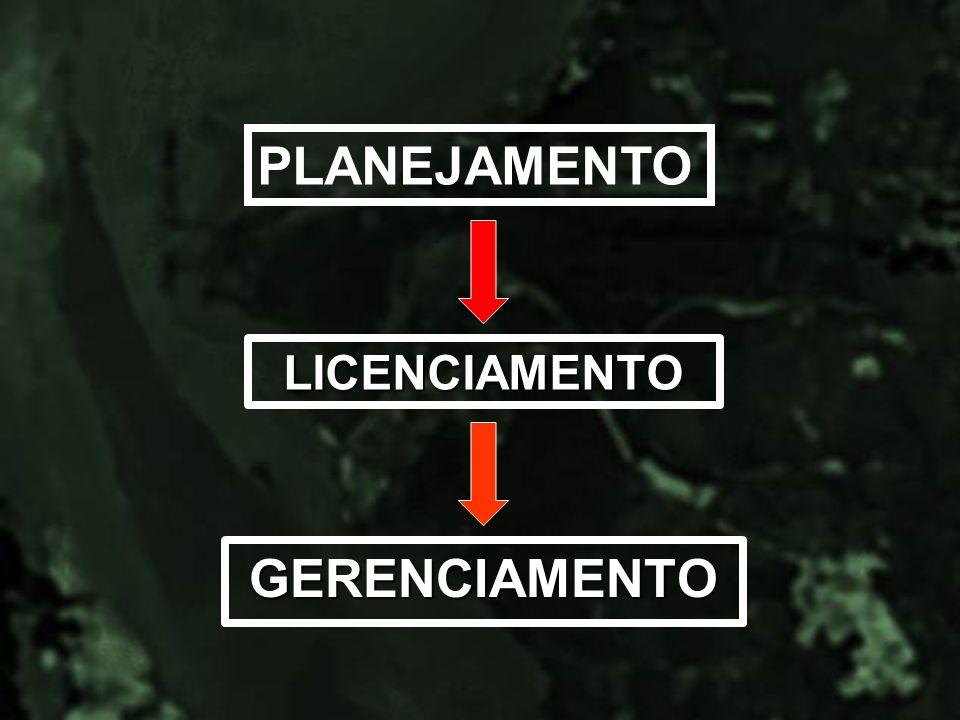 LICENCIAMENTO GERENCIAMENTO PLANEJAMENTO