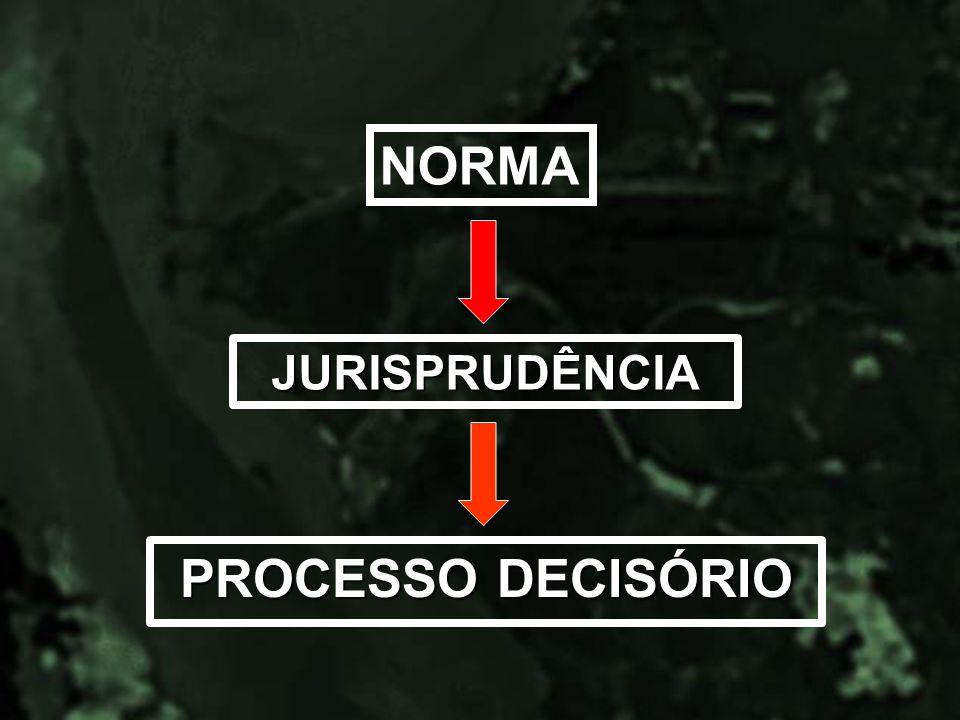 JURISPRUDÊNCIA PROCESSO DECISÓRIO NORMA