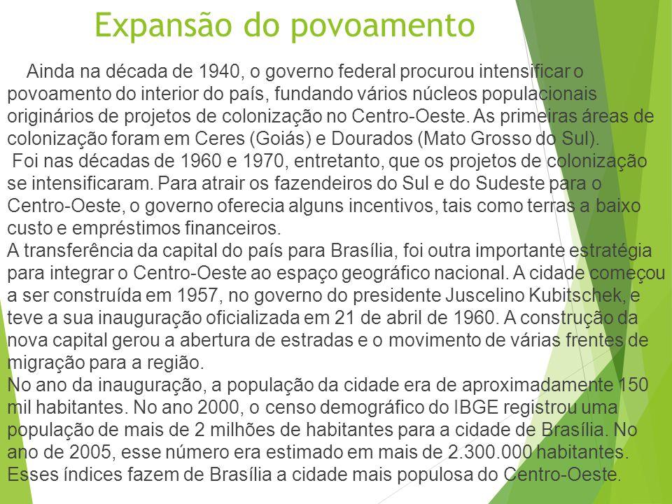 Conhecendo a Região A região Centro-Oeste é a segunda maior do Brasil em extensão territorial, com 1606 403, 506 quilômetros quadrados de área, o equi