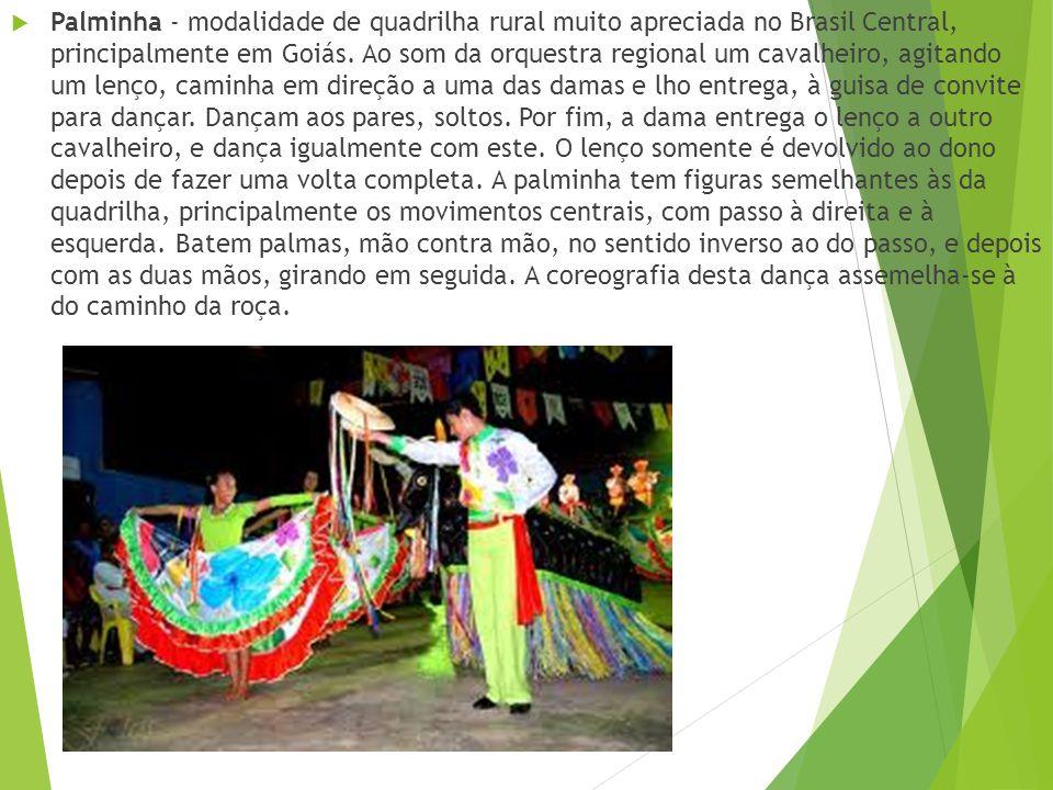 Siriri - dança típica do Mato Grosso, tem como característica a troca de casais. É marcada pelo som do mocho (espécie de tambor em forma de banco, fei