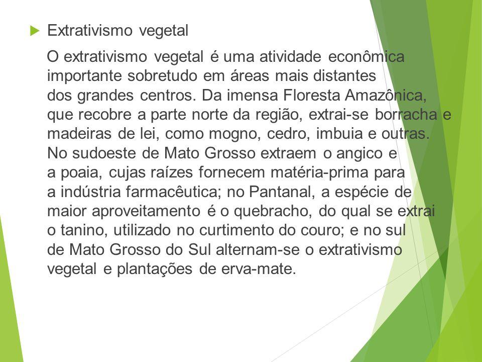 O ouro é um dos produtos econômicos mais importantes da Região Centro-Oeste do Brasil, ao lado do diamante e do ferro. http://pt.wikipedia.org/wiki/Ec