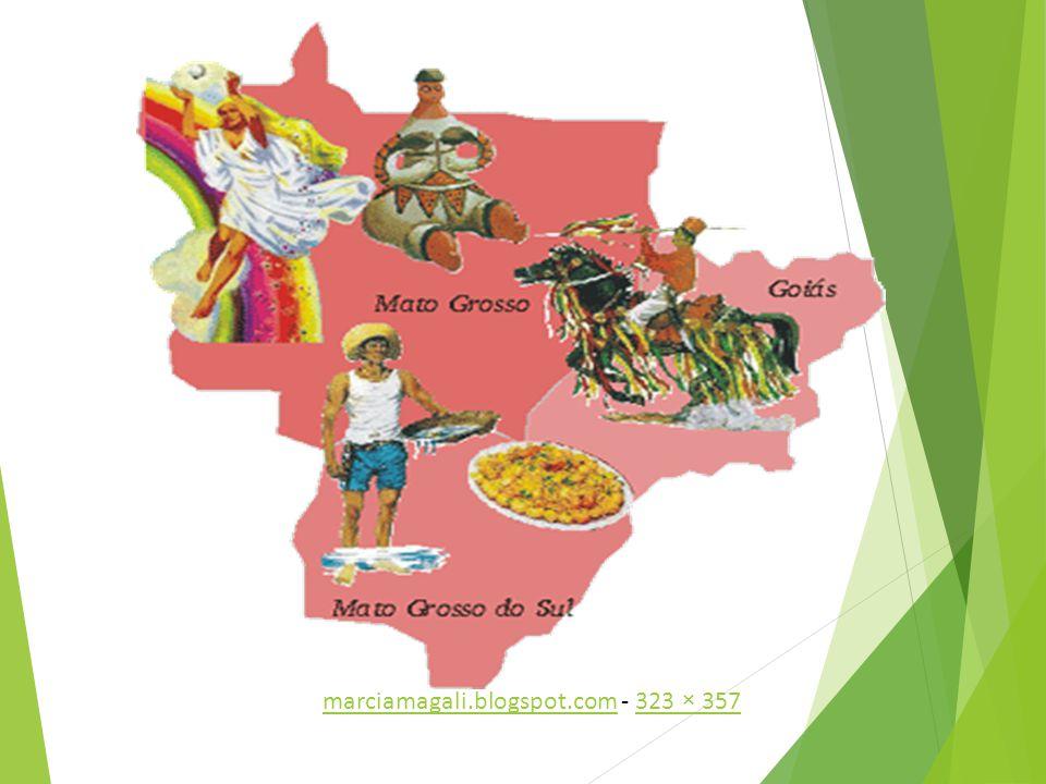 Centro-oeste é a segunda maior região do Brasil e a menos populosa. Estados – Mato Grosso, Mato Grosso do Sul, Goiás e Distrito Federal. Clima – Tropi