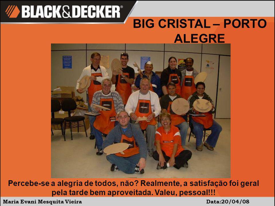 Maria Evani Mesquita Vieira Data:20/04/08 Percebe-se a alegria de todos, não.