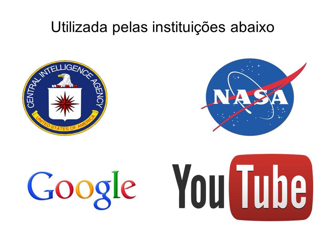 Utilizada pelas instituições abaixo