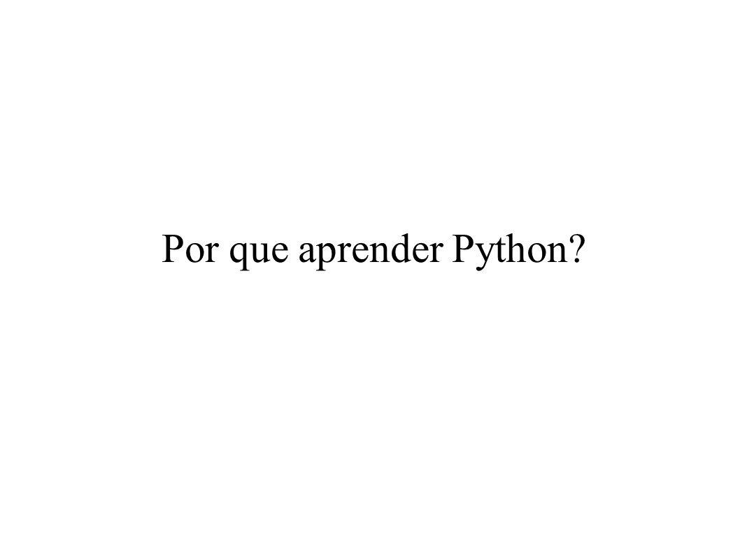 Por que aprender Python