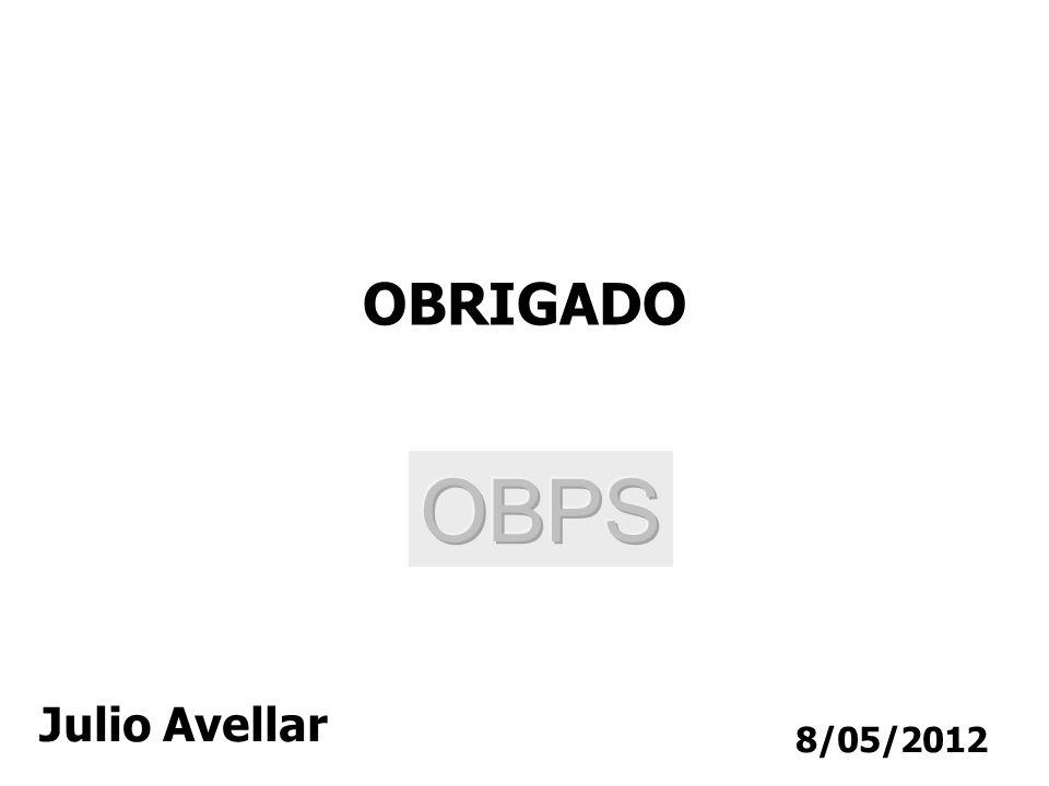 8/05/2012 OBRIGADO Julio Avellar
