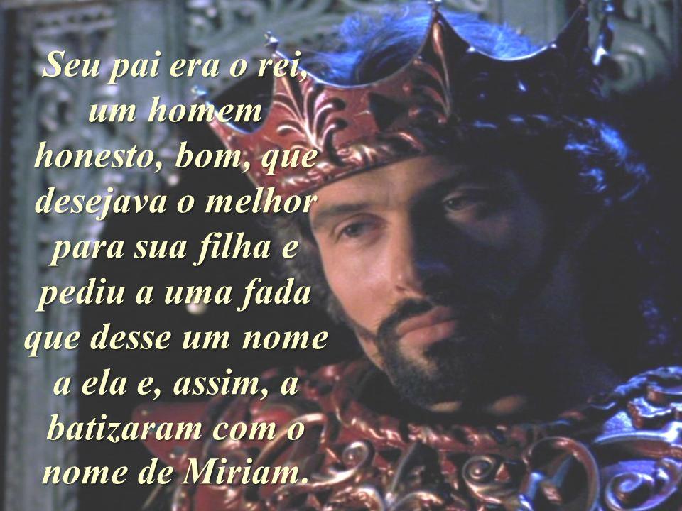Minha querida Miriam, esta é sua vida e sua esperança no futuro; e coisas muito boas e grandiosas a esperam no futuro..