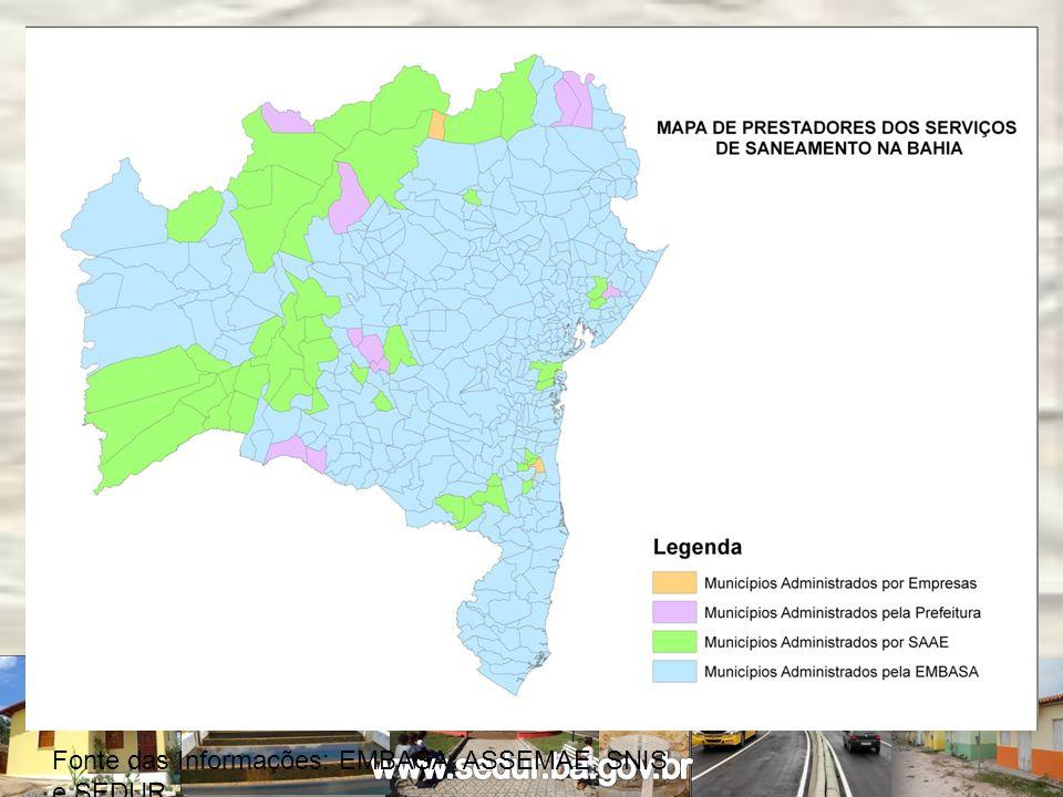 MUNICÍPIOS AÇÃO 1 TIPO DE AÇÃOCONTRATOINVESTIMENTO Curaçá ÁGUATC/PAC-0248/2012 R$ 18.724.318,85 Macaúbas ÁGUATC/PAC-0231/12 R$ 1.468.532,99 Pindobaçu ÁGUA TC/PAC-0277/2012 R$ 1.332.084,12 Riacho de Santana ÁGUA376.791-16/12 R$ 4.699.868,30 Ribeirão do Largo ÁGUATC/PAC-0913/08 R$ 928.656,66 Sítio do Mato MSDTC/PAC-0462/11 R$ 500.000,00 MUNICÍPIOS AÇÃO 2 TIPO DE AÇÃOCONTRATOINVESTIMENTO MacaúbasESGOTOTC/PAC-0277/07 R$ 4.048.003,25 Investimentos do PAC por meio do Governo do Estado