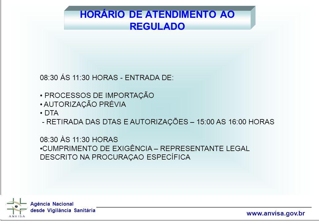 www.anvisa.gov.br UM PENSAMENTO PARA REFLEXÃO A omissão de quem pode e não auxilia o próximo, é comparável a um crime que se pratica contra a comunidade inteira.