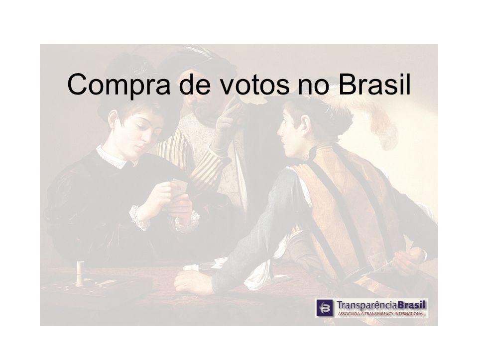 Compra de votos no Brasil