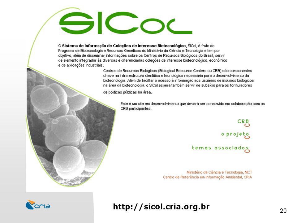 20 http://sicol.cria.org.br