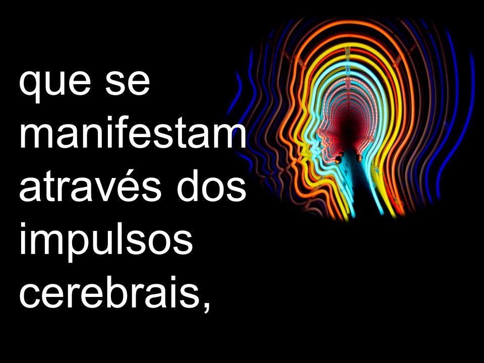 O pensamento são os fenômenos cognitivos que procedem do ser real.