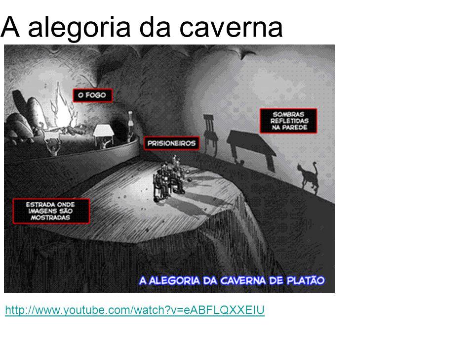 A alegoria da caverna http://www.youtube.com/watch?v=eABFLQXXEIU