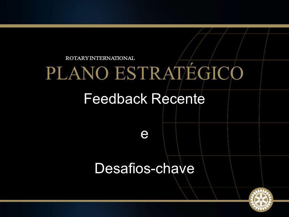 15 2009-10 Rotary Institutes Feedback Recente e Desafios-chave PLANO ESTRATÉGICO ROTARY INTERNATIONAL