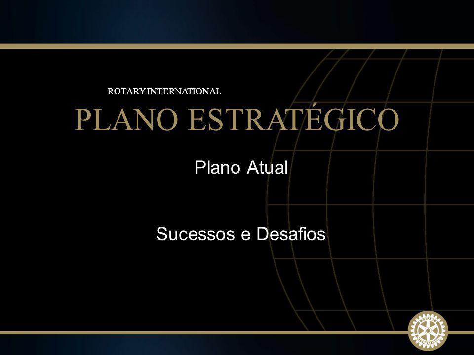 6 2009-10 Rotary Institutes Plano Atual Sucessos e Desafios PLANO ESTRATÉGICO ROTARY INTERNATIONAL