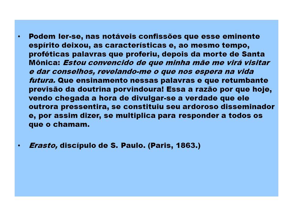 REFERÊNCIAS Brown, P.Santo Agostinho: uma biografia.