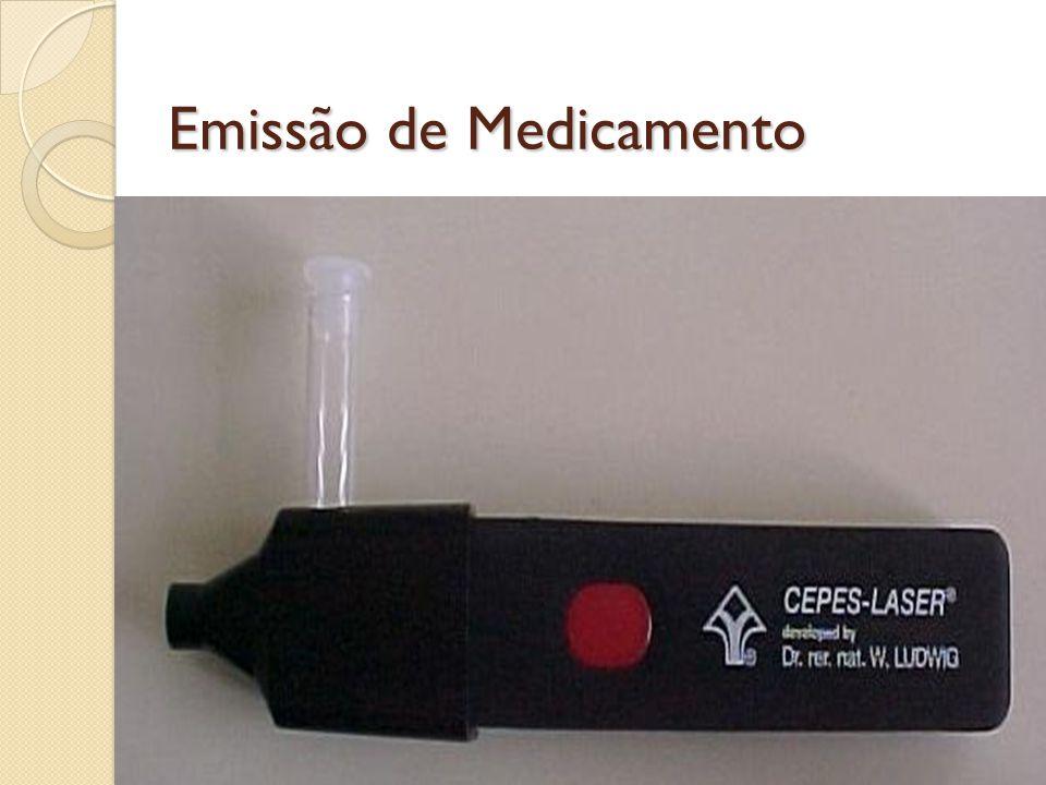 Emissão de Medicamento
