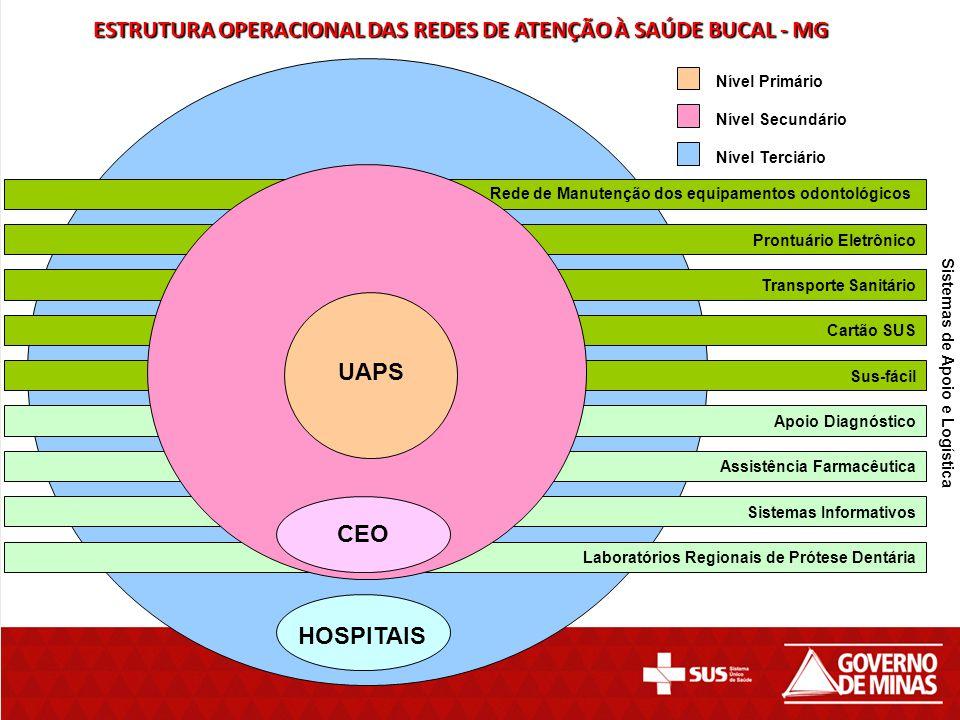 Prontuário Eletrônico Transporte Sanitário Cartão SUS Sus-fácil Apoio Diagnóstico Assistência Farmacêutica Sistemas Informativos Laboratórios Regionai