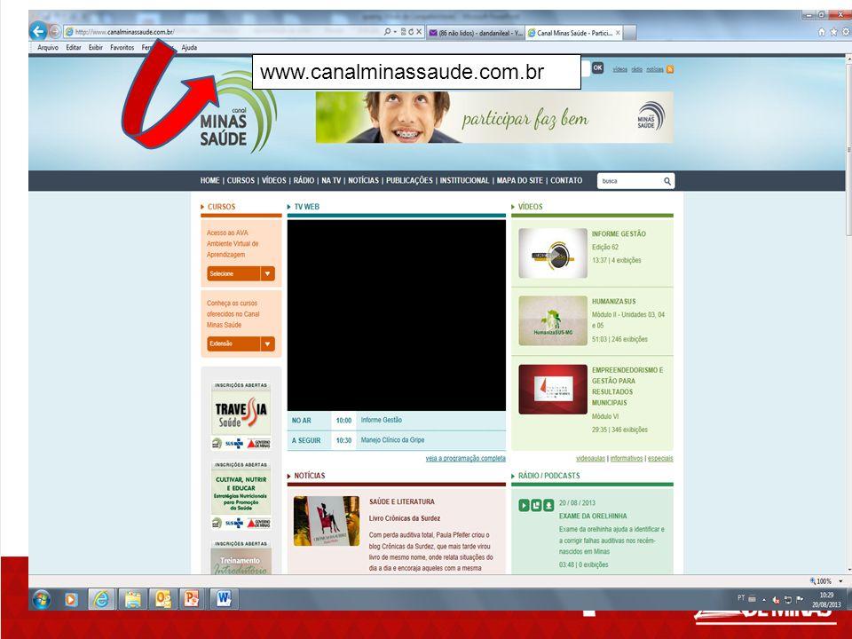 www.canalminassaude.com.br