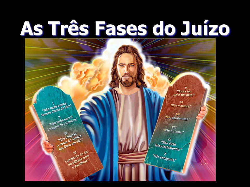 1 – O Juiz = Jesus 2 – O Advogado = Jesus 3 – Testemunhas = Seus Anjos 4 – Promotor = Satanás 5 – Testemunhas Falsas = Anjos Caidos 6 – Réus = Os Home