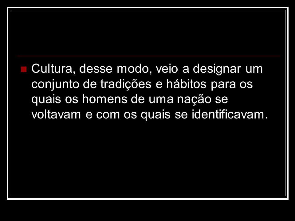 3.O conceito de civilização.