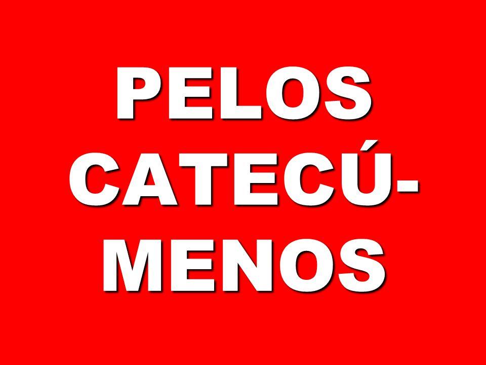 PELOS CATECÚ- MENOS