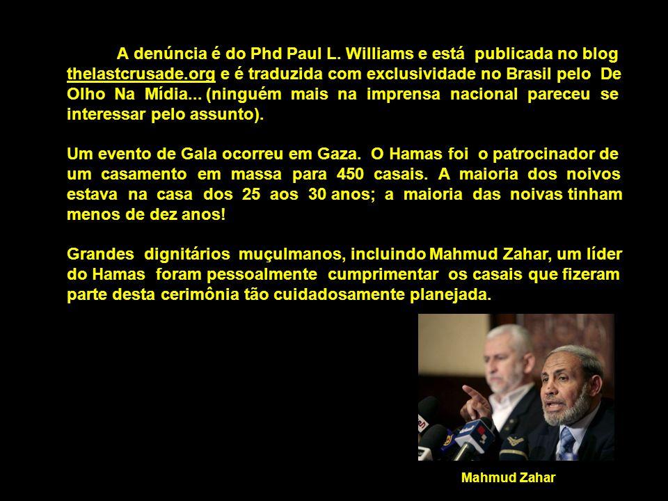 A denúncia é do Phd Paul L.