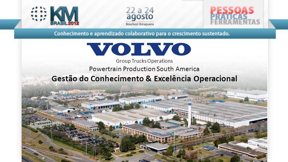 Group Trucks Operations Powertrain Production South America Gestão do Conhecimento & Excelência Operacional