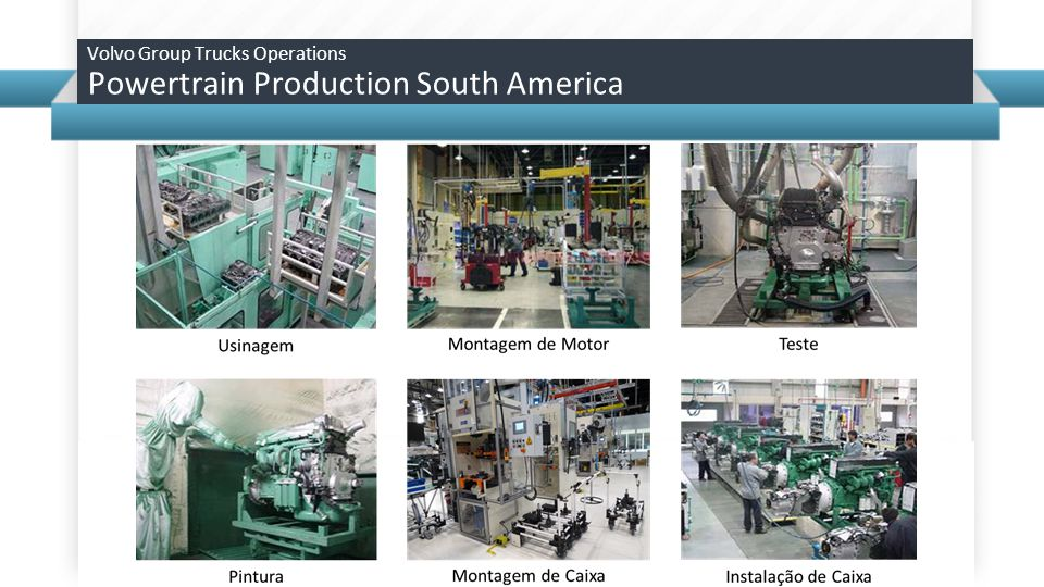 Volvo Group Trucks Operations Powertrain Production South America