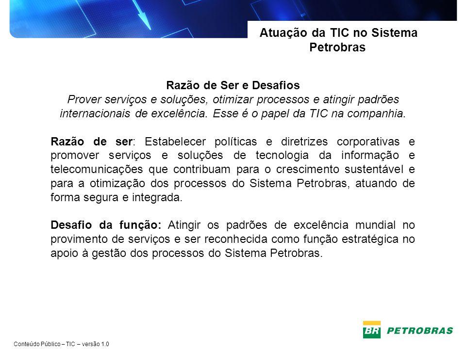 Conteúdo Público – TIC – versão 1.0 Focalização Estratégica da TIC