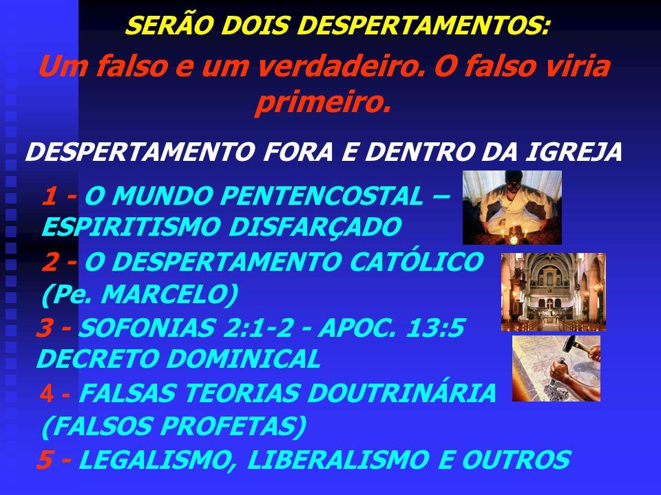 3ª CAUSA UM DESPERTAMENTO...haverá entre o povo do Senhor, tal avivamento da primitiva piedade como não fora testemunhado desde os tempos apostólicos.