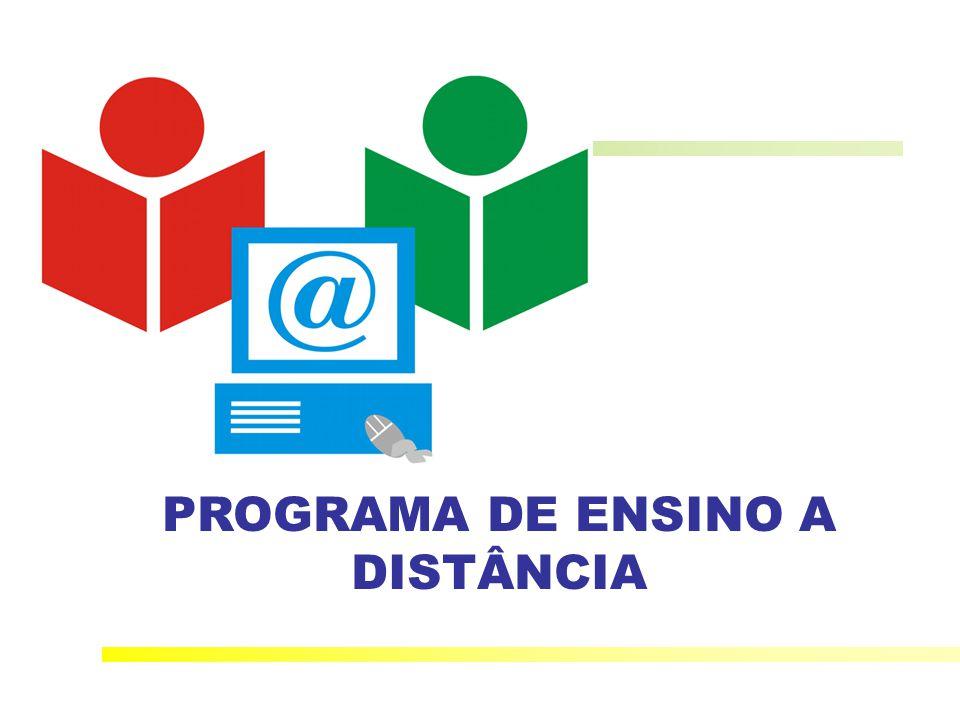 PROGRAMA DE ENSINO A DISTÂNCIA