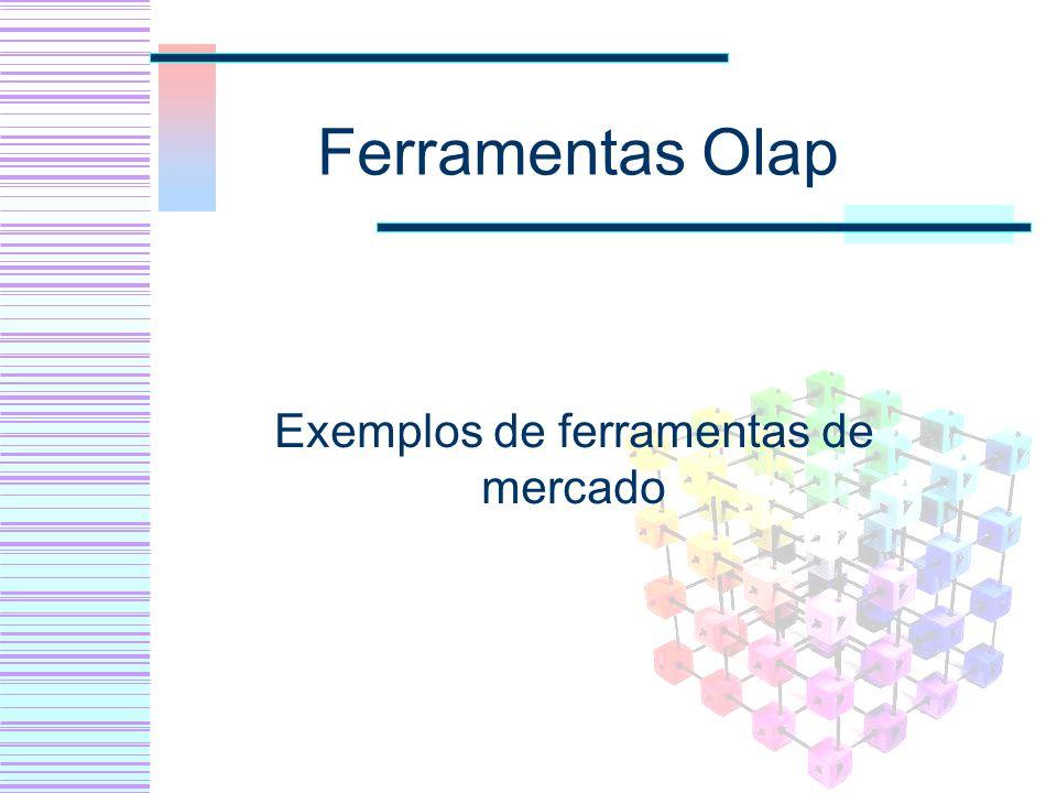 Ferramentas Olap Exemplos de ferramentas de mercado