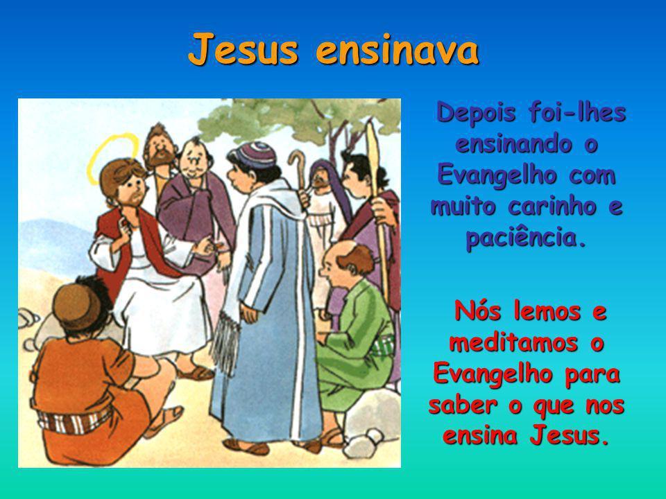 Jesus escolheu doze homens Chamou-os seus Apóstolos.
