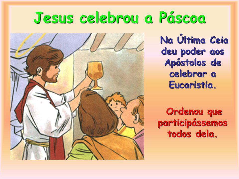 Jesus fez muitos milagres Os Apóstolos viram Jesus fazer muitos milagres.