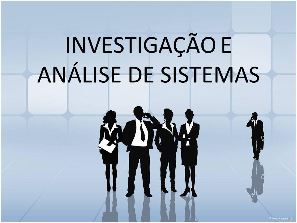 Relatório da Análise Pontos fortes/fracos do Sistema Antigo Requisitos para o novo sistema Requisitos organizacionais do novo sistema Como o novo sistema resolverá o problema