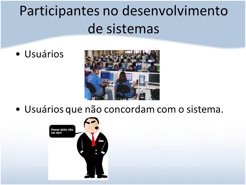 Participantes no desenvolvimento de sistemas O que as empresas fazem para melhorar a produtividade e motivação e reduzir o estresse do pessoal de SI?