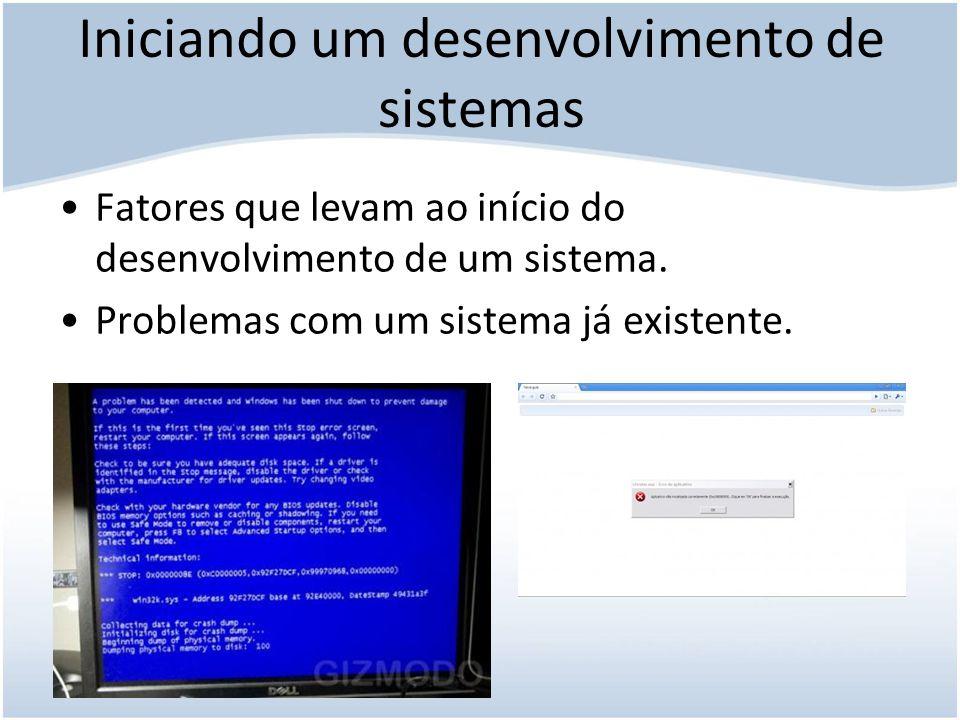 Desenvolvimento pelo usuário final Qualquer projeto de sistema no qual a iniciativa fica a cargo dos administradores da empresa ou usuários.