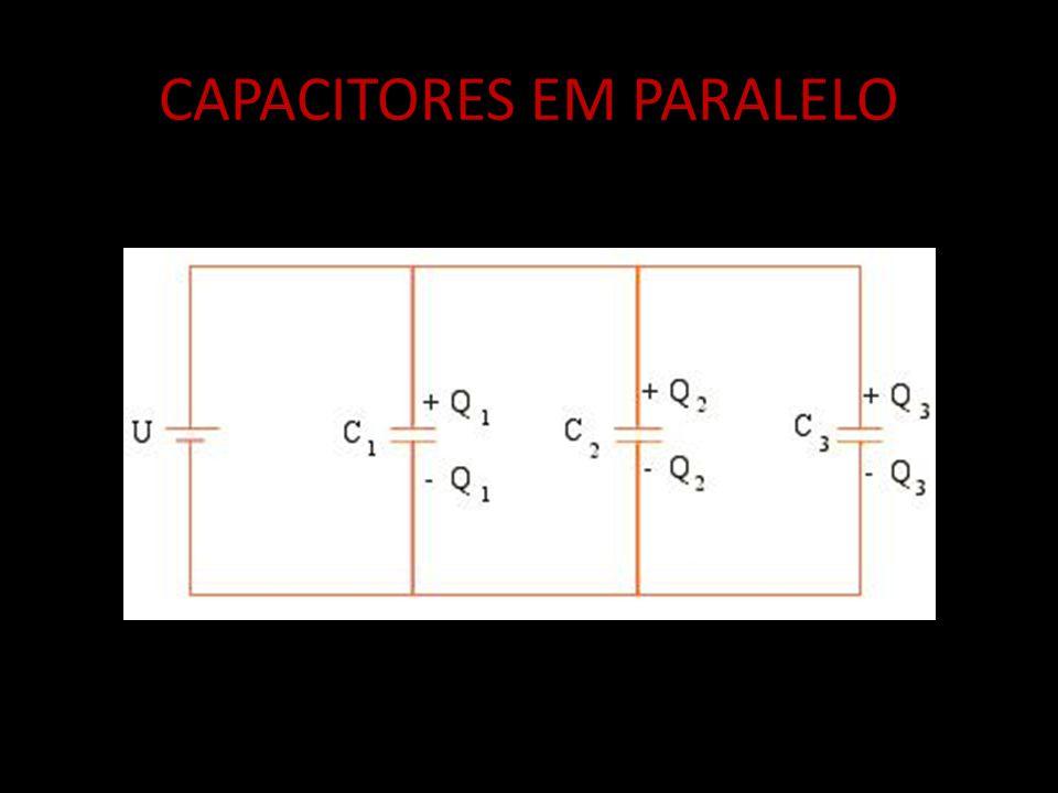 Q = Q 1 + Q 2 + Q 3 C E = C 1 + C 2 + C 3 U = U1 = U2 = U3...