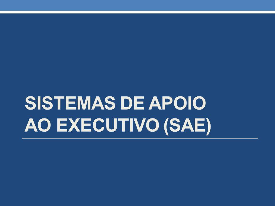 SISTEMAS DE APOIO AO EXECUTIVO (SAE)