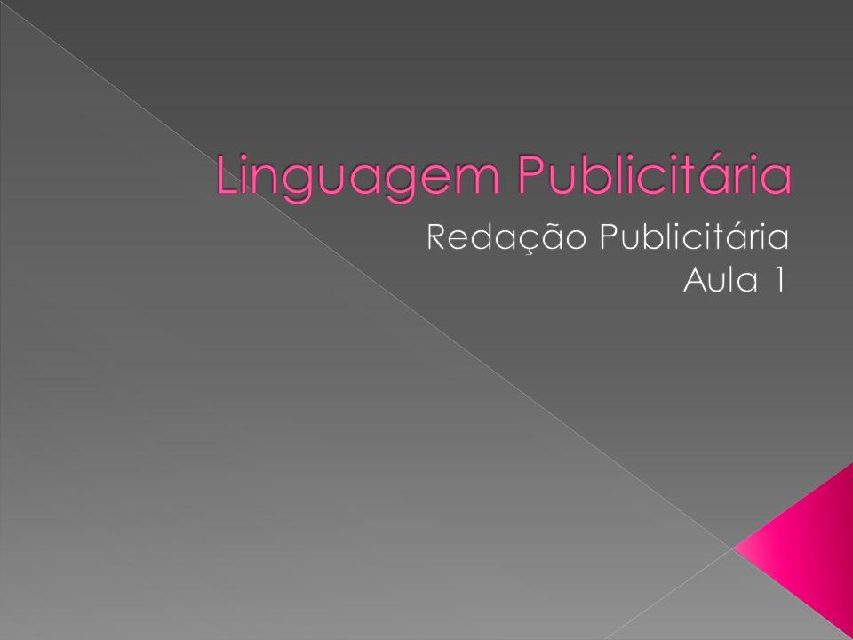 O que é a linguagem publicitária?