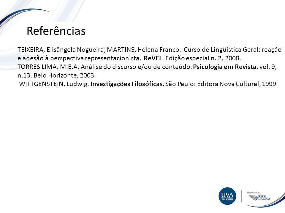 TÓPICO XXX Textos e imagens Referências TEIXEIRA, Elisângela Nogueira; MARTINS, Helena Franco.