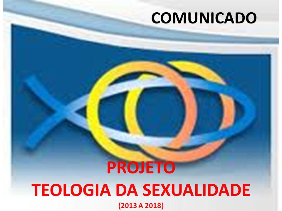 EQUIPES TEMPORÁRIAS TEOLOGIA DA SEXUALIDADE (DURAÇÃO APROXIMADA DE TRÊS ANOS) (CRIAÇÃO DA ERI )